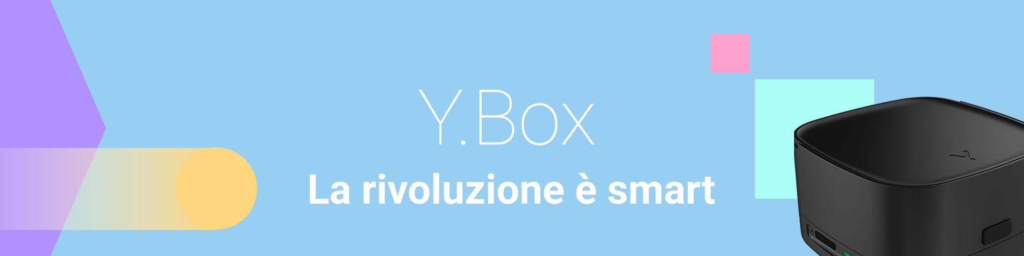 y.box la rivoluzione è smart